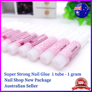 New Package Super Strong Nail Glue for Acrylic or UV Gel nails Clear