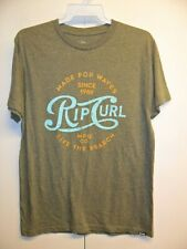 Rip Curl Men's S/S T-Shirt COLA HEATHER - SAG - Medium - NWT