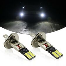 Universal Brightness HID White 6500K 24-SMD LED Bulbs For Fog Light Driving DRL