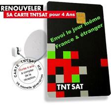 Carte officielle TNTSAT V6 neuve, pour tous récepteurs TNT SAT HD, sat Astra