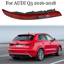 Right Side Rear Bumper Light Lower Tail Brake Lamps For Audi Q3 2016 2017 2018