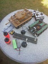 Heng Long RC Panzer Tiger 1,Unterwanne Panther demontiert, Metallketten,Lesen!!