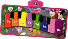 Disney Minnie Mouse Big Floor Step On Interactive Electronic Piano Mat NEW