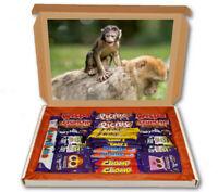 Monkeys Zoo Animal Wild 24 Bar Cadbury Chocolate Hamper Personalised Gift Box