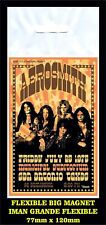 AEROSMITH 1975 FLEXIBLE BIG MAGNET IMAN GRANDE 0217