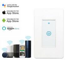 Interruptor de pared de luz inteligente Wi-Fi funciona con la vida de seguridad hogar IFTTT Alexa Google App