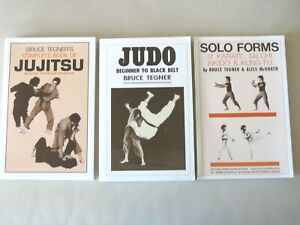 Martial Arts Collection (Judo & Jujitsu)by Bruce Tegner  (Three Different Books)