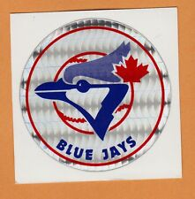 OLD VENDING MACHINE DECAL STICKER early 80s TORONTO BLUE JAYS UNSOLD STOCK RARE