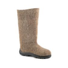 Men's Valenki Traditional Russian Winter Snow Boots 100% Wool Felt Boots