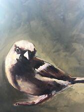 Original Acrylic Painting - Brown Bird