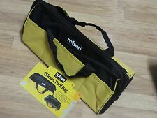 TOOL BAG 455MM HEAVY DUTY WATER REPELLENT POLYESTER REINFORCED BASE 13  POCKE
