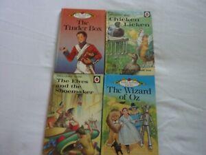 Childrens Ladybird books x4