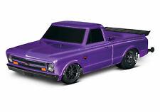 Traxxas Drag Slash Purple RTR RC Dragster Brushless Onroad Race Car 94076-4