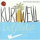 CD DOUBLE ALBUM - KURT WEILL - DER SILBERSEE - LONDON SINFONIETTA