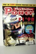 RIVISTA PLAYSTATION POWER ANNO 3 NUMERO 8 AGOSTO 1998 USATA ED ITA VBC 47088
