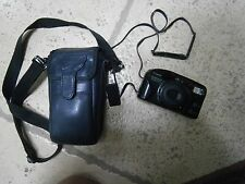 Canon Sure Shot Zoom-S 35mm Camera with Case and Manual - Untested