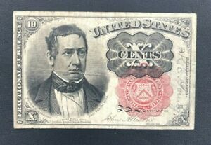 5th Issue 10 Cent Fractional Currency