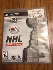 Sony PlayStation PS3 NHL Legacy Edition Brand New Factory Sealed