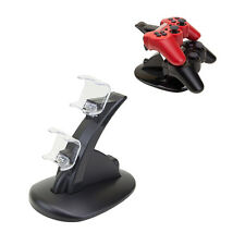 Dual USB Charger Station Dock Fast Charging Stand For Sony PS4 Controller