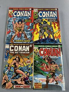 Marvel Comics CONAN OMNIBUS Volume #1 2 3 4 Hard Cover Global Shipping 3336 Page