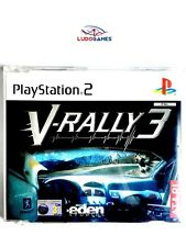 V-Rally 3 Promo EUR PS2 Retro Playstation Videojuego Videogame Mint State