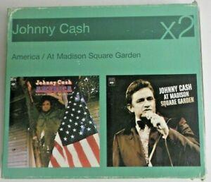 Johnny Cash - America / Madison Square Garden  2 CD   Box Set