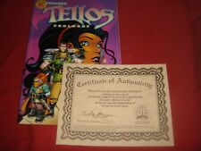 TELLOS : PROLOGUE #1 Dynamic Forces Comics Exclusive with Certificate