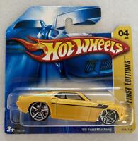 2007 Hotwheels New Models 4/36 1970 Ford Mustang Mint MOC!
