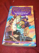 Discworld: Wyrd Sisters by Terry Pratchett (1990, Pb) True US 1st print V. Good