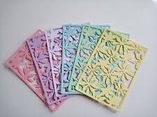 8x Stanzteile Baby Kartenaufleger Kartenschmuck Scrapbooking Basteln Accessoires