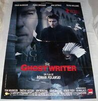 THE GHOST WRiTER Roman Polanski Ewan McGregor Pierce Brosnan LARGE French POSTER
