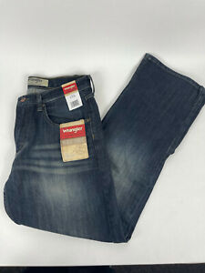 Wrangler Authentics Jeans Dark Blue Mens 31x30 ZM4RBOB New With Tags Premiere