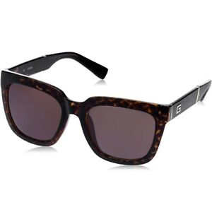 Guess Women's 56mm Tortoise Brown Lens Sunglasses GU 4004 52E - Made In Italy