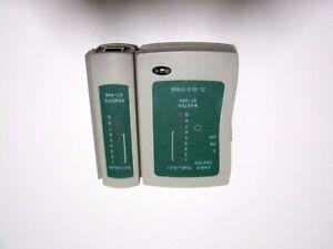 LAN NETWORK Cable tester for RJ11, RJ12, RJ45, UTP, STP **SHIP FROM MELBOURNE**