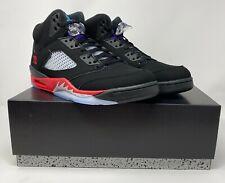 Nike Air Jordan Retro V 5 TOP 3 Grape Fire Red CZ1786-001 Metallic Black 10-14