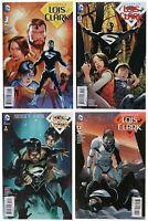 Superman Lois and Clark 1 2 3 4 NM- Set Lot 2015 Jon Kent DC Comics Jurgens