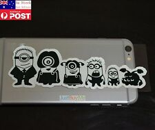 My Family 6 Cartoons iPad Phone Car Window Glasses Reflective Sticker 15cm #335