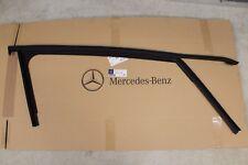 Genuine Mercedes-Benz W176 A-Class RH FRONT Black Window Run Seal A1767251200
