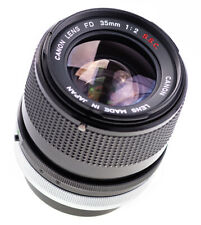 Canon FD 35 mm f 2,0 S . S . C  / 8 Blades / SN:90813 / Prime Lens (589)