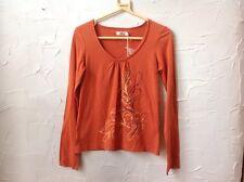 Women's/girls Size S 'Lee Cooper' Long Sleeved Burnt Orange T.shirt - RRP 29,99€
