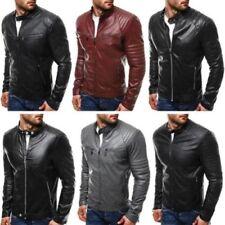 Manteaux et vestes motard en cuir pour homme