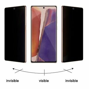 Galaxy S8 S9 S10 S20 Plus Ultra 5G Note 8 9 10 20  Privacy Film Screen Protector