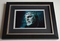 Sir Derek Jacobi SIGNED 10X8 FRAMED Photo Autograph TV Shakespeare AFTAL & COA