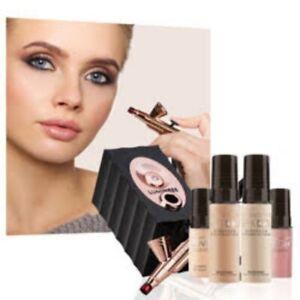 New SEALED Luminess Icon Airbrush System+ Extra Whole Foundation Kit + More $385