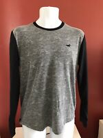 Hollister Raglan Style Long Sleeve Mens Size M T Shirt Good Condition