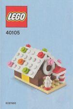 Lego Lebkuchen Haus monatlicher gebaut 40105 PE-Beutel NEU OVP