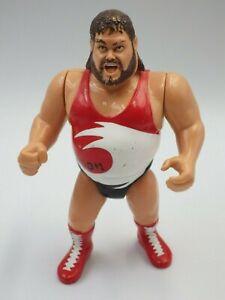 Figurines vintage catcheur TYPHOON WWE WWF HASBRO 1991 Titan sport