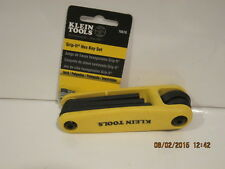 Klein Tools 70570 Grip-It Hex-Key Sets with 5-Inch Sizes, Yellow FREE SHIP NEW!!