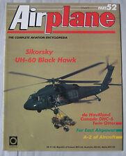Airplane Issue 52 Sikorsky UH-60 Black Hawk cutaway & poster, de Havilland DHC-6