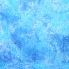 Cowboystudio 10 X 20 ft Sky Blue Muslin Photo Backdrop Background